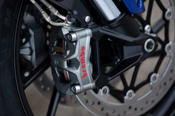Tiger 850 Sport – Brembo Stylema Brake Calipers