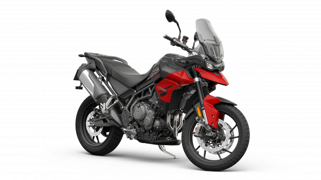 Tiger 850 Sport – Graphite and Diablo Red – Angle Front.png