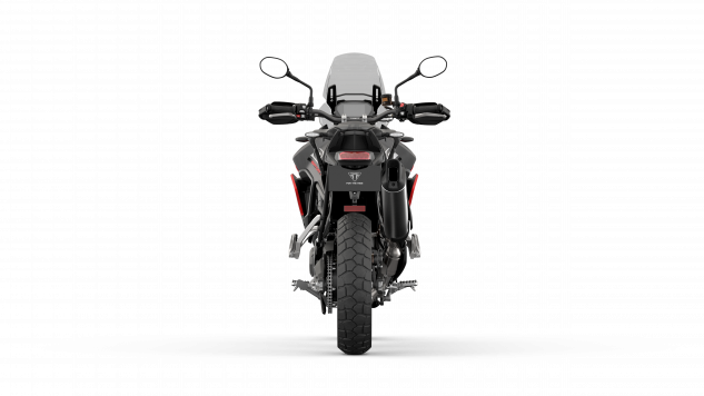 Tiger 850 Sport – Graphite and Diablo Red – Rear.png