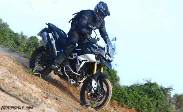 Best Adventure Motorcycle of 2020: Triumph Tiger 900
