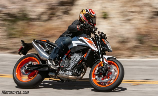 2020 Motorcycle of the Year: KTM 890 Duke R