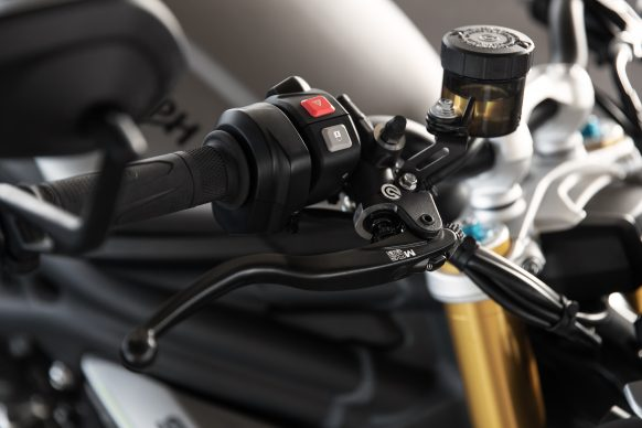 Speed Triple 1200 RS – Brembo MCS Lever