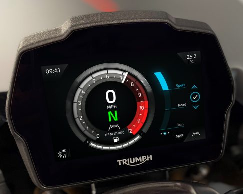 Speed Triple 1200 RS Instruments – Cobalt theme – MAP Setting