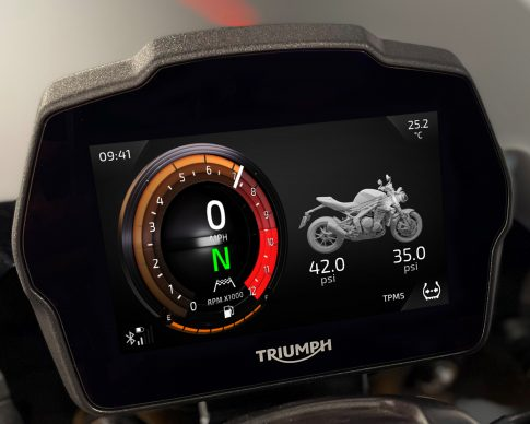 Speed Triple 1200 RS Instruments – Furnace theme – TPMS