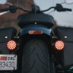 2022 Indian Chief rear lighting