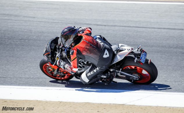 AGV Pista GP R in action