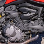 Ducati Monster engine close-up