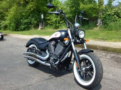 Used 2014 Victory High Ball - Suede Black with Graphics For Sale : Used Motorcycle Classifieds