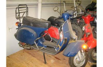 1980 vespa p125x for sale used motorcycle classifieds. Black Bedroom Furniture Sets. Home Design Ideas