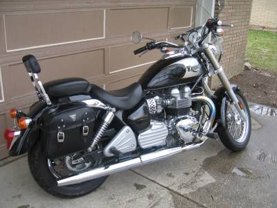 2002 Triumph Bonneville America For Sale : Used Motorcycle ...