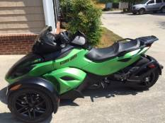 2012 can am spyder for sale used motorcycle classifieds. Black Bedroom Furniture Sets. Home Design Ideas