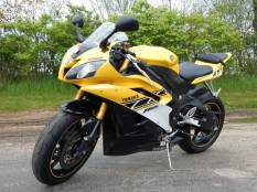 2006 Yamaha YZF R6 50th Anniversary Yellow Black SOLD