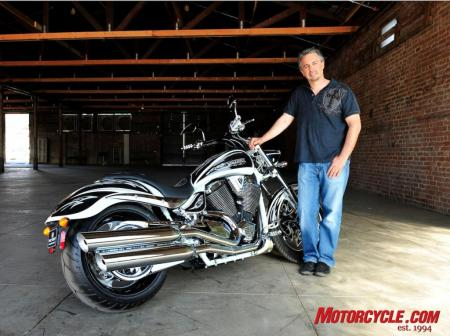 2009 Victory Motorcycles Cory Ness bike