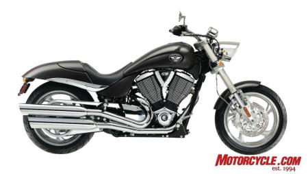 2009 Victory Motorcycles Hammer Graphite 09 Pr