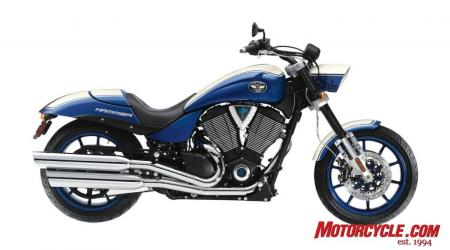 2009 Victory Motorcycles HammerS Blue 09 Pr