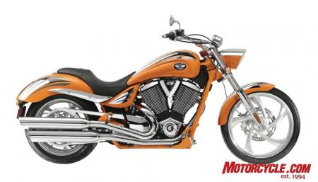 2009 Victory Motorcycles Jackpot Orange 09 Pr