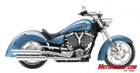 2009 Victory Motorcycles KingpinLow BlueIce 09 Pr