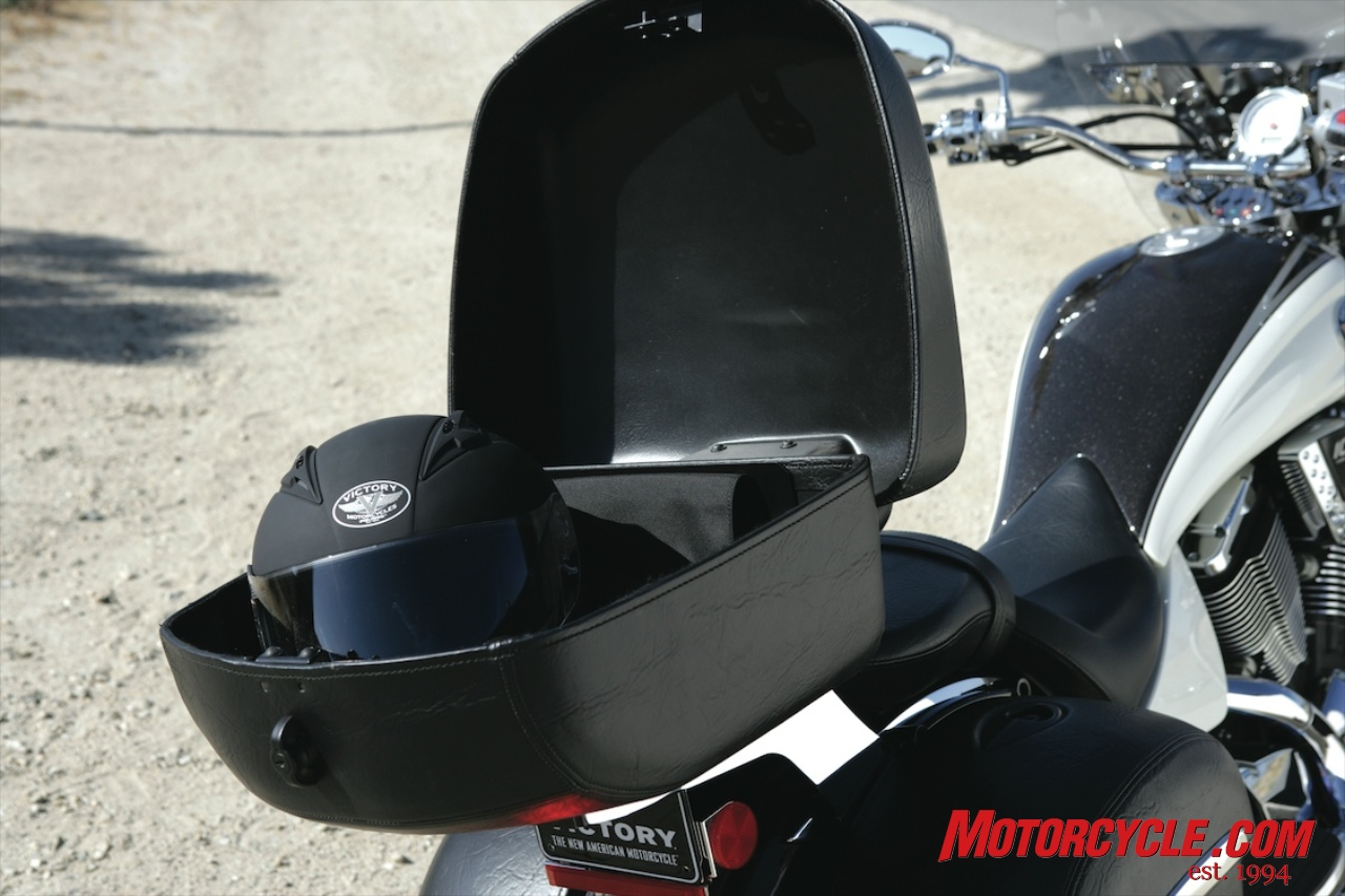 Vintage Honda Motorcycle Parts >> Picture: Other - 2009 Victory Motorcycles KingpinTour trunk