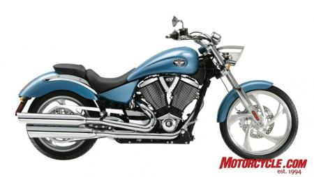 2009 Victory Motorcycles Vegas BlueIce 09 Pr