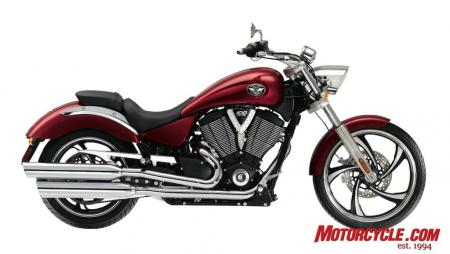 2009 Victory Motorcycles Vegas SunsetRed 09 Pr