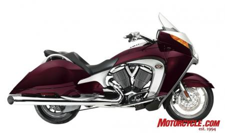 2009 Victory Motorcycles VVisionStreet Cherry 09 Pr