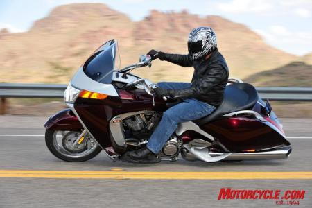 2009 Victory Motorcycles VVisionStreet lifestyle3
