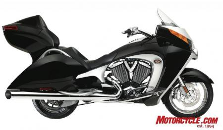 2009 Victory Motorcycles VVisionTour Black 09 Pr