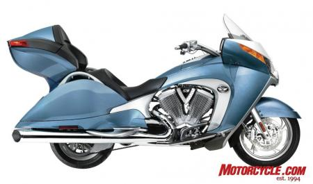 2009 Victory Motorcycles VVisionTour BlueIce 09 Pr
