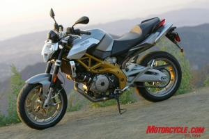 The Aprilia SL750 Shiver offers Italian style, versatility and sporting performance for $8,999.