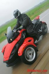 In the Media: 2009 Can-Am Spyder Preview