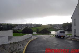 Oi! Typical Manx weather.