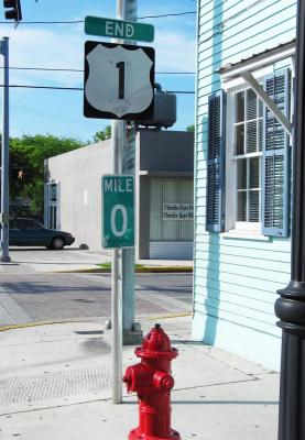 The end of the road in Key West