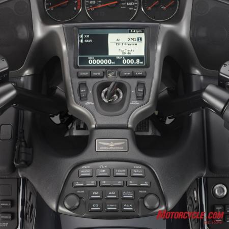 09GoldWing XM Radio 2