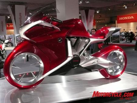New Motorcycle Honda to produce V4 in 2010