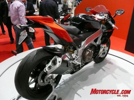 Aprilia RSV4 is claimed to offer nearly 200 horsepower.
