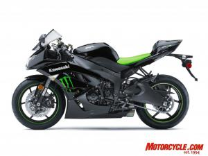 You'll get a buck's change from a $10,000 bill when buying the special-edition Monster Energy ZX-6R.