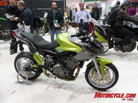 Benelli's 900cc Tre-K is essentially an Italian Triumph Tiger or a three-cylinder Multistrada.