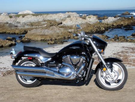The 2009 Suzuki M90: Lots of cool cruiser for less than 10 large.