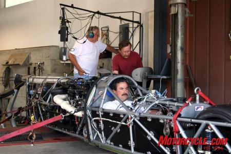Dyno work was done at Al Bertoni's V12 Engineering. The Ack Attack makes in excess of 1000 horsepower! (Photo courtesy Mike Akatiff)