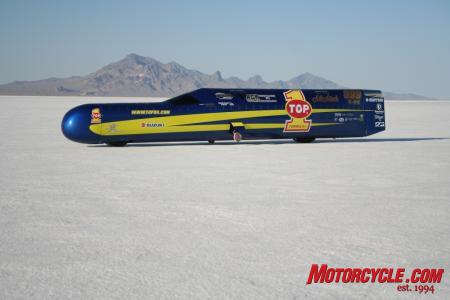 The Top 1 Ack Attack…the world's fastest motorcycle! (Photo courtesy Tricia Robinson)