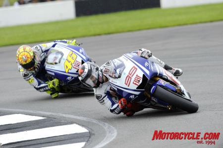 The Fiat Yamaha duel fizzled at Donington but Rossi and Lorenzo should provide for a thrilling finish over the last seven races.