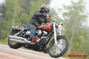 The Wide Glide�s attention-getting style can be had for less than $15,000.