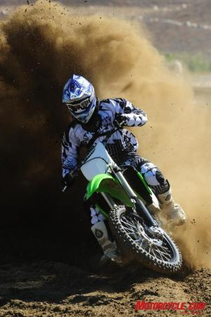 The KX�s mondo motor might be the class of the 450cc field.