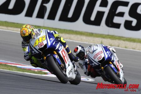 Rossi seems to have gotten into Lorenzo's head.