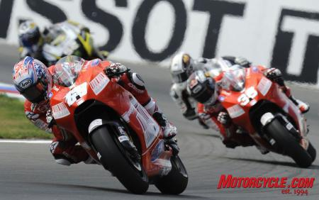 Nicky Hayden and the rest of the MotoGP crew are returning Stateside for the Indianapolis Grand Prix.