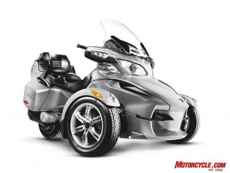 2010 Can-Am Spyder RT Silver