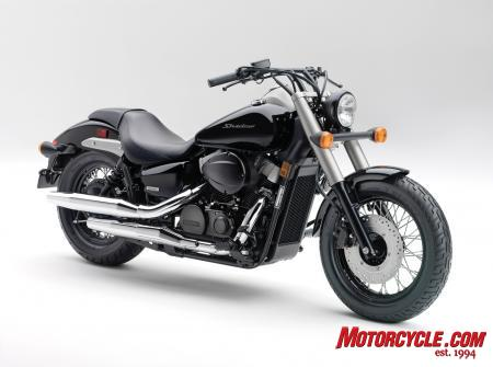 Honda hops onto the Bobber train with the 2010 Shadow Phantom.