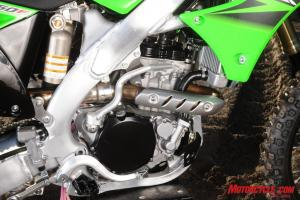 The 'beast' portion of Kawasaki's new beauty.