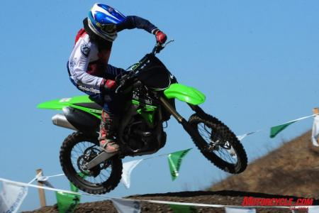 A lot of small changes add up to a more refined KX250F for 2010.