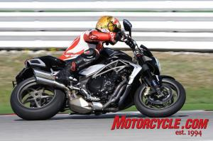 The spec sheets say the 2010 Brutale 990R is down on power but Tor isn't convinced.